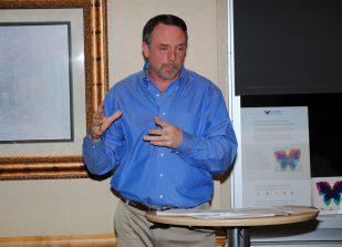 "Dr. Mark Fesen presents at ""Shine A Light"""